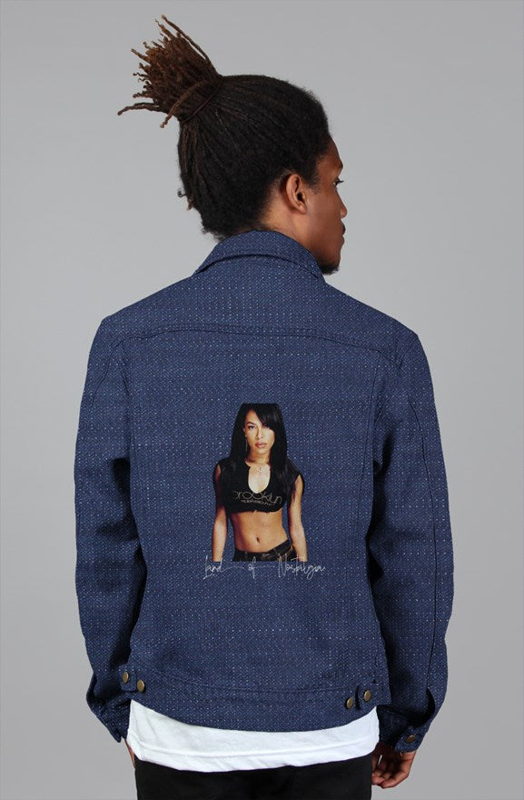 Land of Nostalgia Euphoria Aaliyah Vintage Denim Jacket