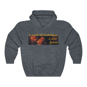 Land of Nostalgia Unisex Heavy Blend™ Hooded Love Jones Sweatshirt