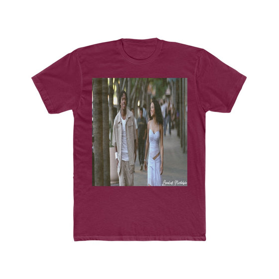 Land of Nostalgia Men's Cotton Crew Love Don't Cost Euphoria Tee
