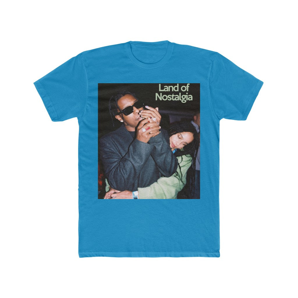 Land of Nostalgia Men's Cotton Crew A$AP & Zoe Tee