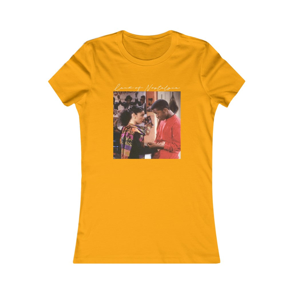 Land of Nostalgia Women's A Different World Dwayne & Whitley Favorite Tee