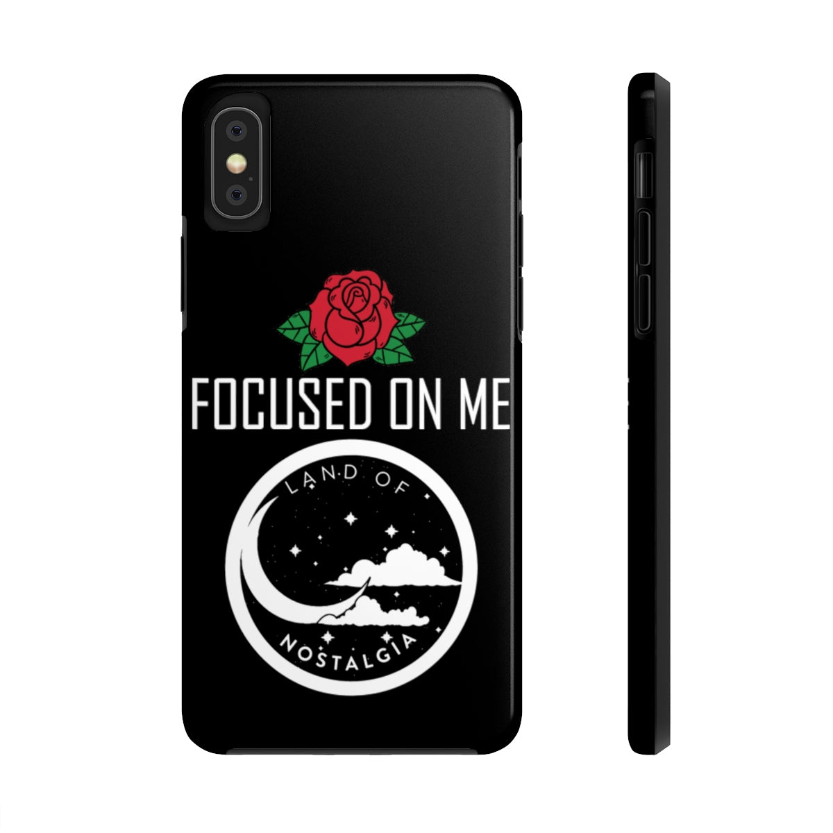 Land of Nostalgia Focus on Me Custom Case Mate Tough Phone Cases