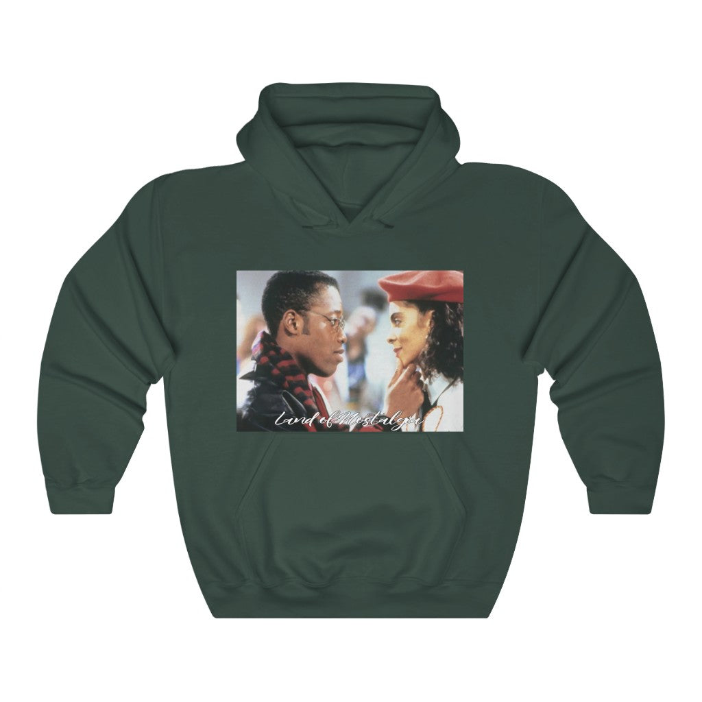 Land of Nostalgia Unisex Heavy Blend™ Hooded Dwayne and Whitley Love Euphoria Sweatshirt