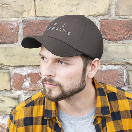 Land of Nostalgia Unisex Twill REAL FRIENDS Hat