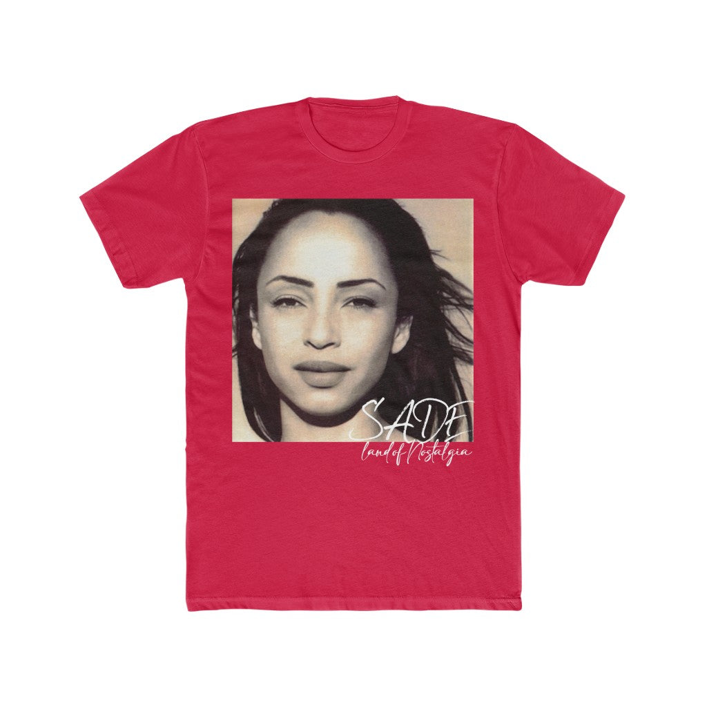 Land of Nostalgia Men's Cotton Crew Sade Tee