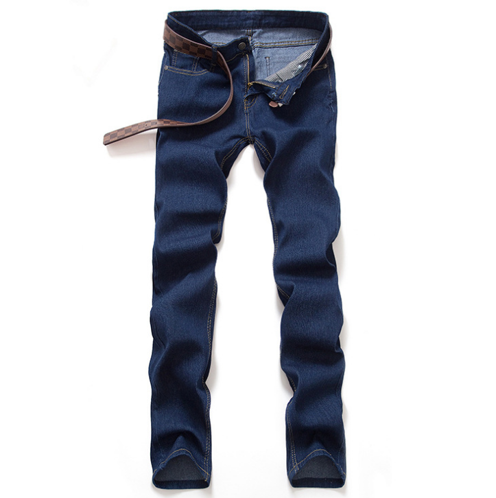 Land of Nostalgia Men's Straight Leg Casual Pants Jeans