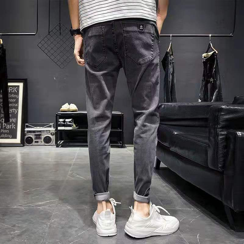 Land of Nostalgia Skinny Trouser Pencil Pants Casual Fashion Man Jeans Cheap Price