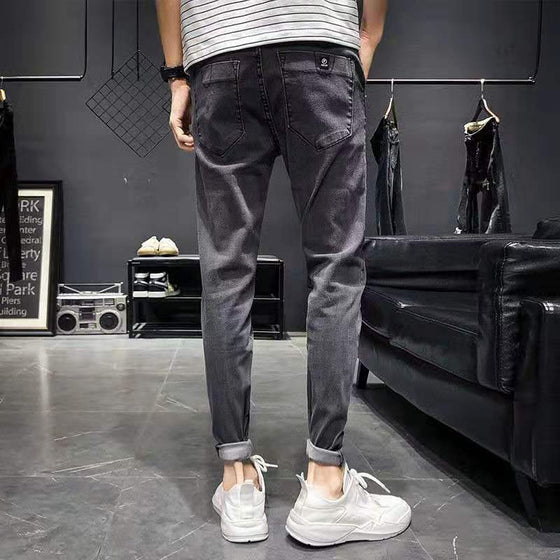 Land of Nostalgia Skinny Trouser Pencil Pants Casual Fashion Man Jeans