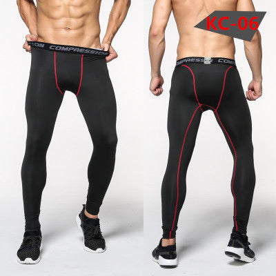 Land of Nostalgia Super Stretch Running Sports Men's Leggings Trousers Jogging Jogger Pants