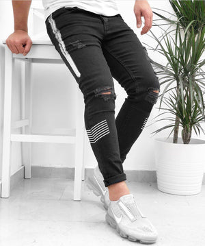 Land of Nostalgia Black Denim Euphoria Infused Jeans