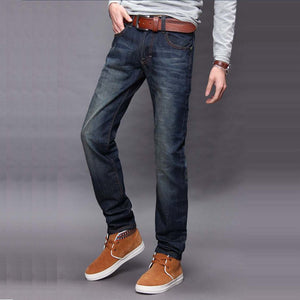 Land of Nostalgia Men's Casual Office Denim Jeans