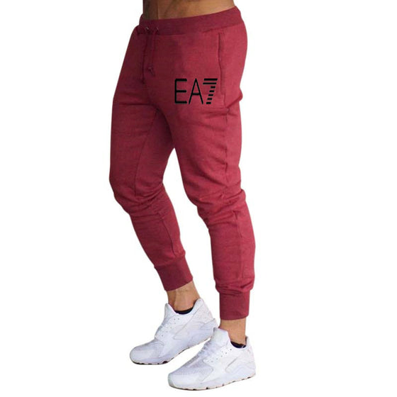 Land of Nostalgia Homme Trousers Men's Casual Sweatpants Jogger Gray Yoga Pants