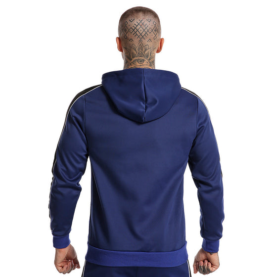 Land of Nostalgia Casual Men's Hooded Long Sleeve Zipper-up Sweatshirt Jacket