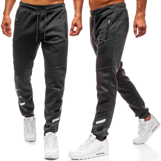 Land of Nostalgia Men's Slim Fit Trousers Cargo Jogger Pants