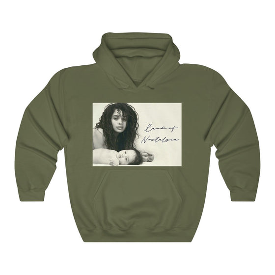 Land of Nostalgia Queen Lisa & Zoe Vintage Unisex Heavy Blend™ Hooded Sweatshirt