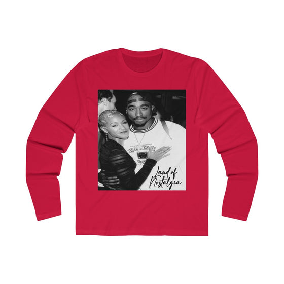 Land of Nostalgia Men's Long Sleeve Crew Pac & Jada Tee