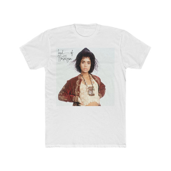 Land of Nostalgia Men's Cotton Crew Vintage Lisa Bonet Tee