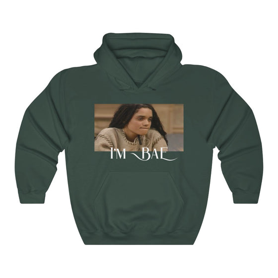Land of Nostalgia Unisex Heavy Blend™ I'm Bae Euphoria Hooded Sweatshirt