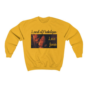 Land of Nostalgia Unisex Heavy Blend™ Crewneck Love Jones Sweatshirt