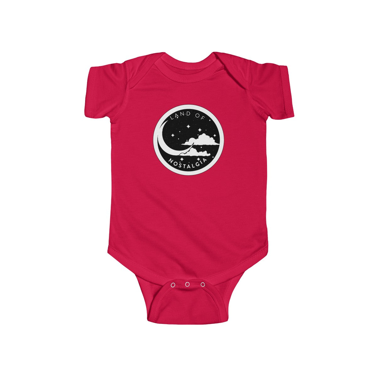 Land of Nostalgia Custom Infant Fine Jersey Bodysuit