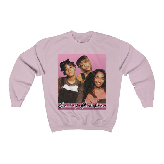 Land of Nostalgia TLC Vintage Vibrations Unisex Heavy Blend™ Crewneck Sweatshirt