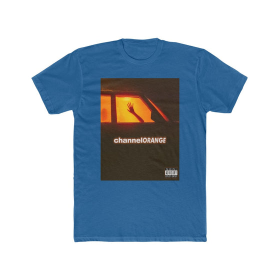 Land of Nostalgia Men's Cotton Crew Frank Ocean Channel Orange Tee