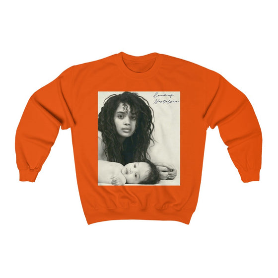 Land of Nostalgia Queen Lisa & Zoe Unisex Heavy Blend™ Crewneck Sweatshirt
