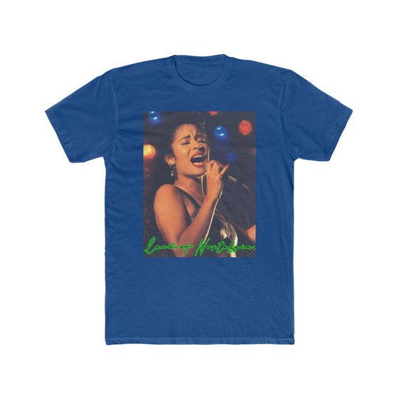 Land of Nostalgia Selena Infused Vintage Men's Cotton Crew Tee