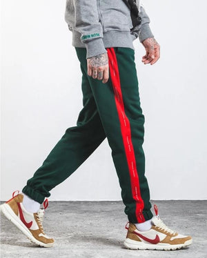 Land of Nostalgia Side Stripe Contrast Color Sweatpants
