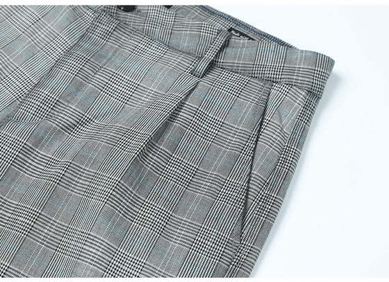 Land of Nostalgia Men's Casual Plaid Pants