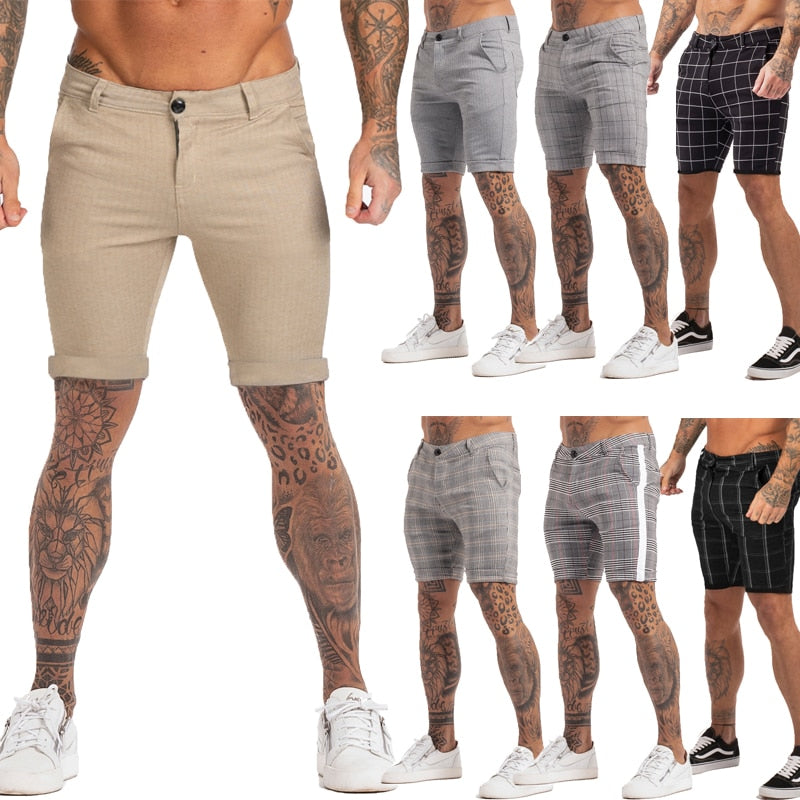 Land of Nostalgia Casual Men's Elastic Waist Fashion Shorts Pants