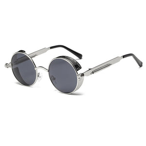 Land of Nostalgia Metal Retro Frame Vintage Sunglasses High Quality UV400 for Men & Women