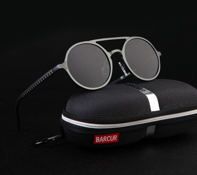 Land of Nostalgia BARCUR Collaboration Aluminum Magnesium Custom Sunglasses