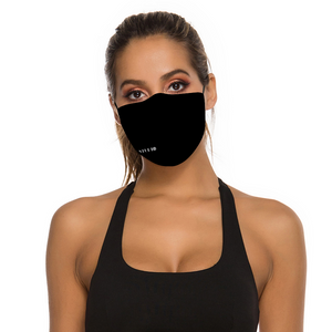 DJ LIZZY Black Face Mask with 2 Filters