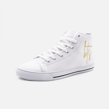 이미지를 갤러리 뷰어에 로드 , BIE THE SKA Designer Collection High Top Canvas Shoes