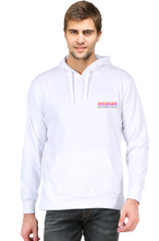 Load image into Gallery viewer, SARVESH TALK Unisex Adult Hooded Sweatshirt - Small Barcode