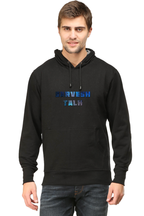 SARVESH TALK Unisex Adult Hooded Sweatshirt - Galaxy