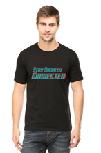 Cargar imagen en el visor de la galería, SARVESH TALK Unisex Adult T-Shirt - Stay Socially Connected