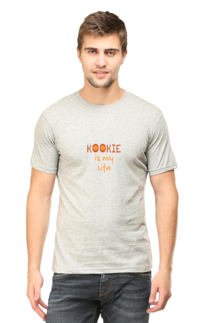 SARVESH TALK Unisex Adult T-Shirt - Kookie