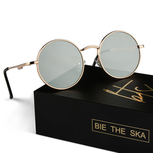 bie the ska gold round glasses thailand influencers packaging