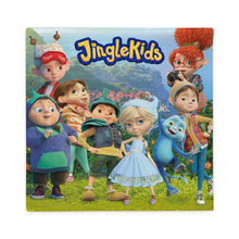 "Load image into Gallery viewer, JINGLE KIDS 22x22"" Square Pillow Case"