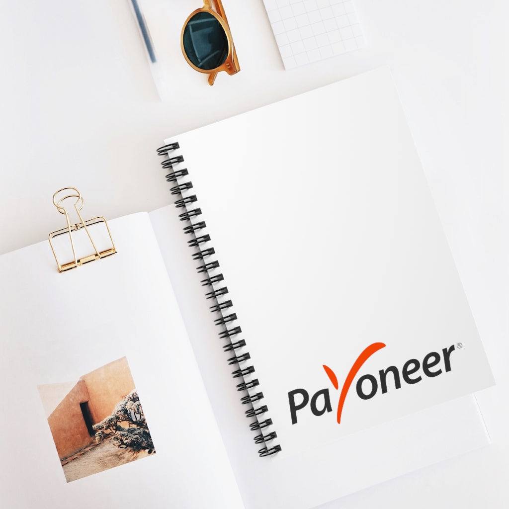 PAYONEER Spiral Notebook (US) - Ruled Line
