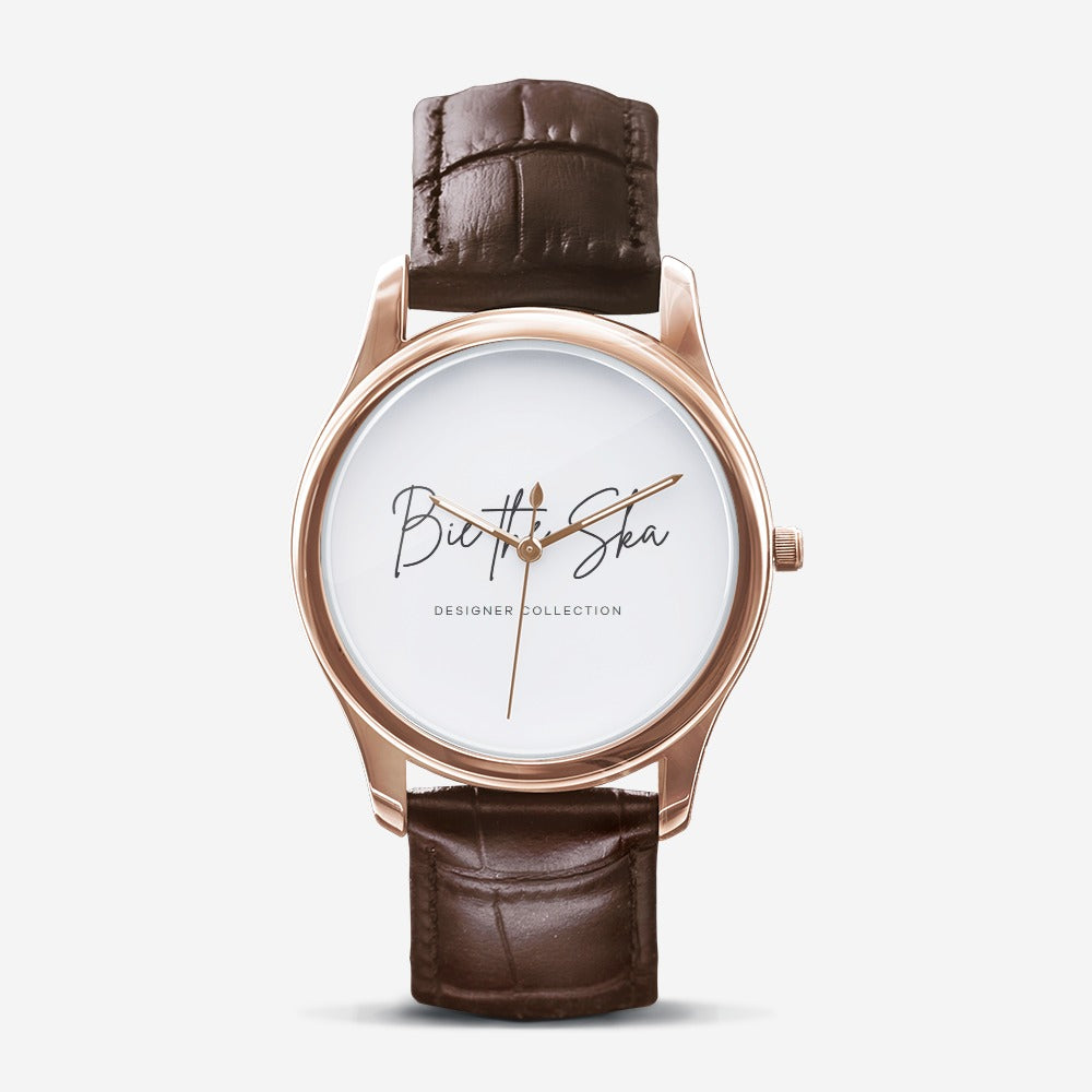 BIE THE SKA Designer Collection Classic Gold Quartz Watch