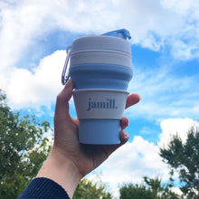 Load image into Gallery viewer, jamill collapsible cup to-go flashfomo eco