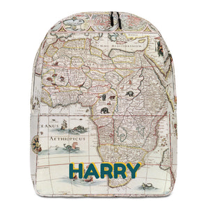 MAP Personalized Backpack - ADD YOUR NAME
