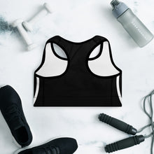 Load image into Gallery viewer, FLASHFOMO Graphic Padded Sports Bra