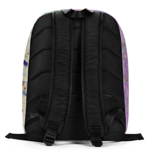 KLIMT Personalized Backpack - ADD YOUR NAME (SUBTLE NAME STYLE)