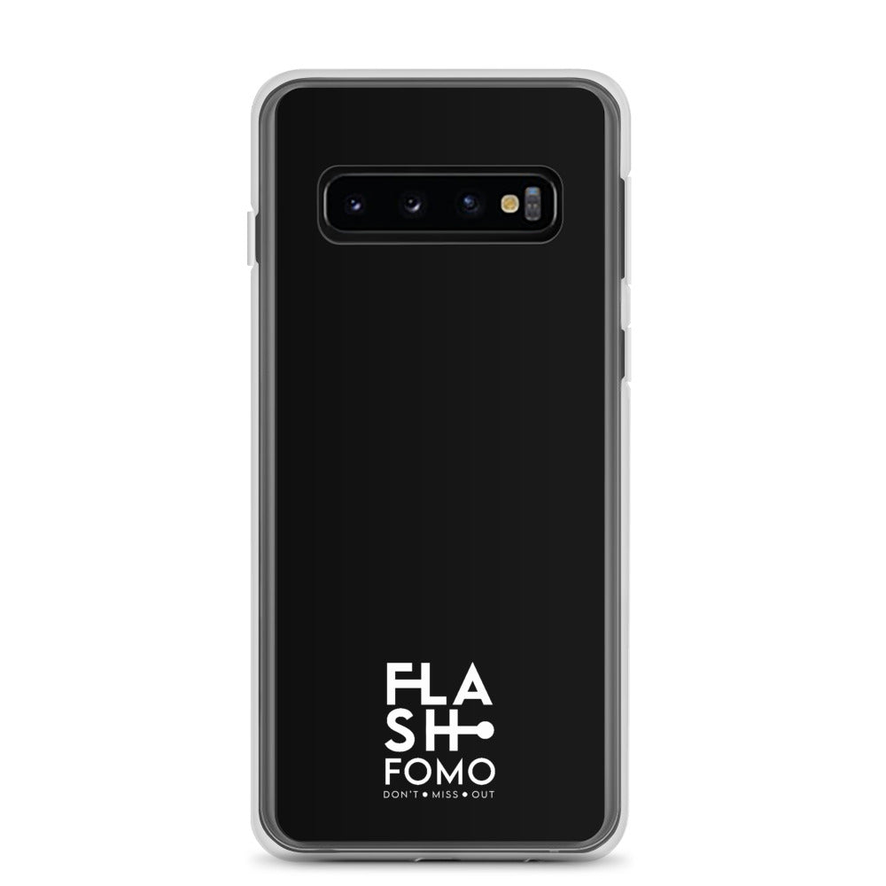 FLASHFOMO Graphic Black Samsung Case