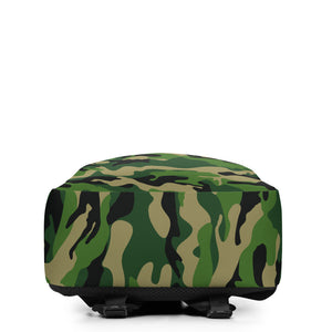 CAMO Personalized Backpack - ADD YOUR NAME (SUBTLE NAME STYLE)