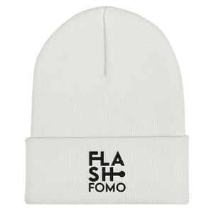 FLASHFOMO Block Cuffed Beanie